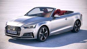 3D model audi a5 cabriolet