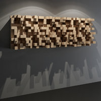 QRD Skyline Diffuser - Acoustic Studio Wall Panel