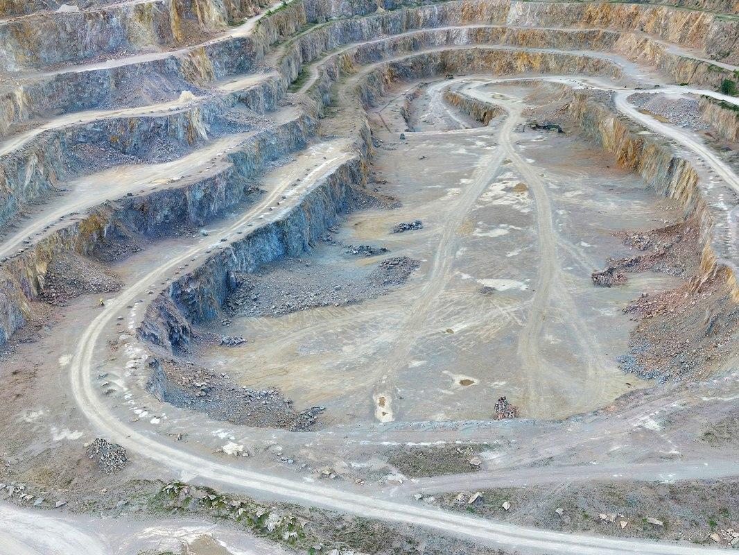 3D opencast mines -