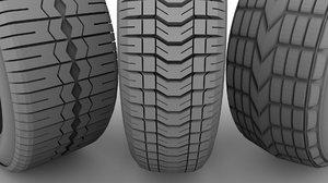 tyre wheel car 3D model
