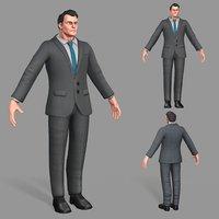 business suit man model