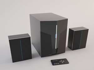 audio system 3D