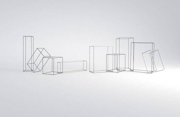 frames sculpture antony gormley 3D model