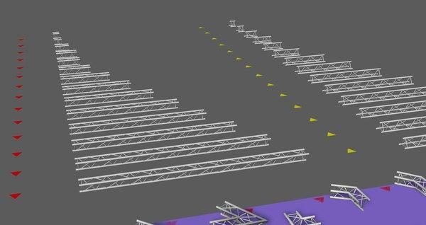 prolyte trusses 3D model