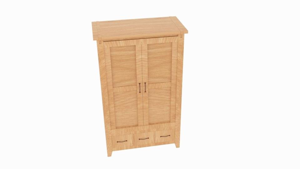 clarendon wardrobe drawer model
