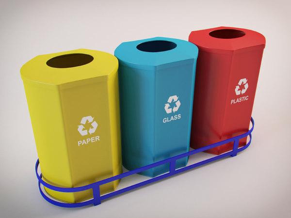 3D recycling model