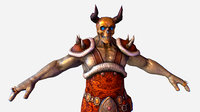 3D fantasy characters mmo rpg games
