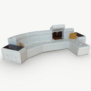 sofa safe 3D model