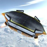 Sci-Fi Float Platform