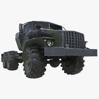 car ural 4320 3D model