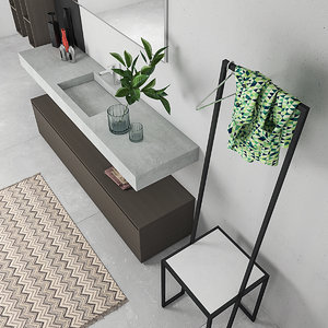 bathroom furniture set arcom 3D