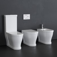 3D toilet opera bidet model
