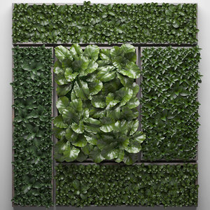 vertical gardening picture model