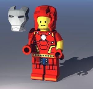 renderized bryce 3D model