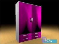 almirah cupboards 3D model