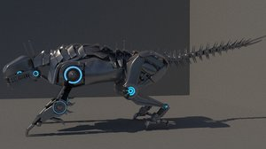 3D model mechabeast