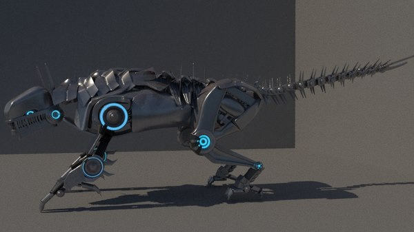 3D model mechabeast