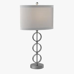 3D zandra table lamp
