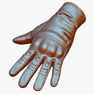 3D military tactical gloves model