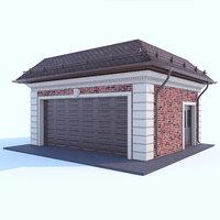 garage cars model