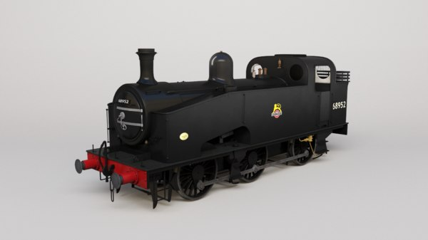 london j50 lner 3D model