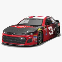 3D nascar race car richard
