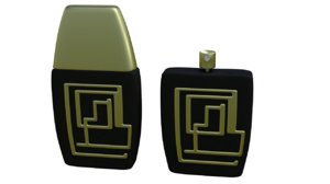 perfume bottle new design 3D model