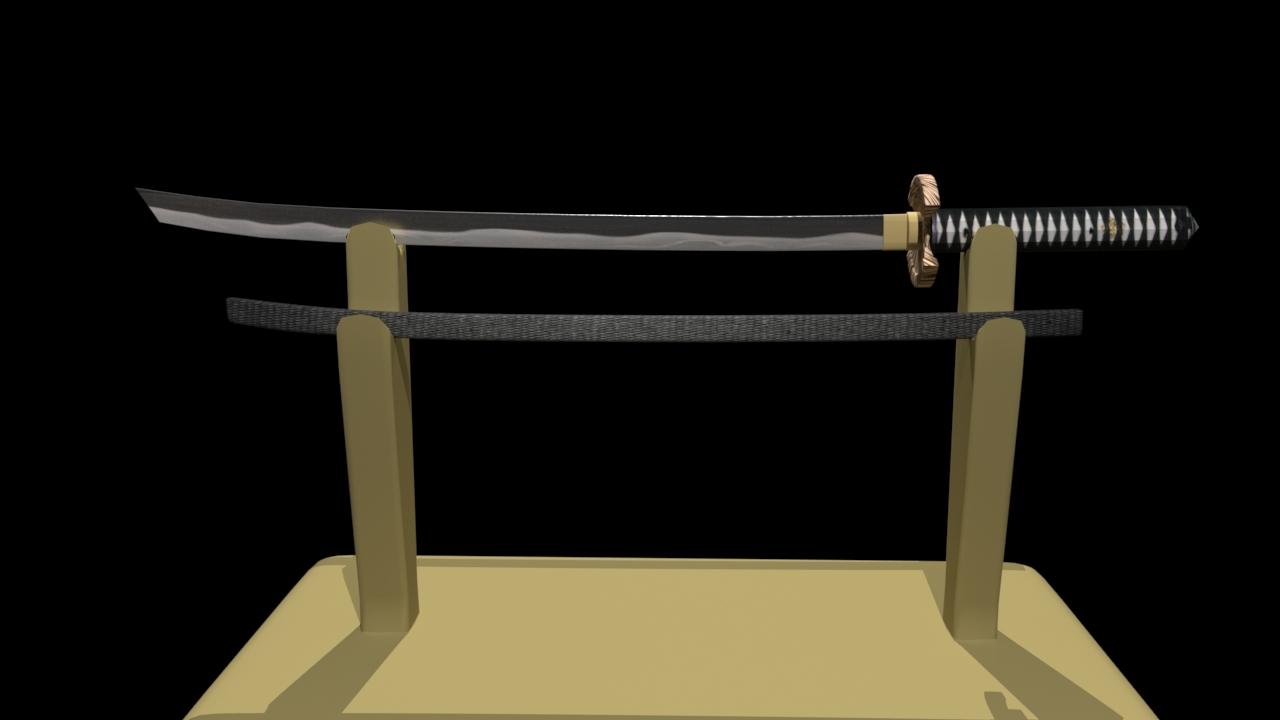 3D prop asset modeled