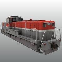 jnr class de11 3D model