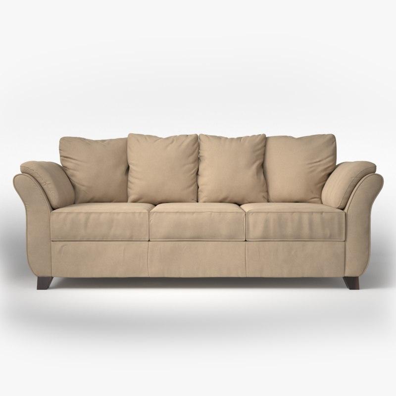 collier sofa 3D model