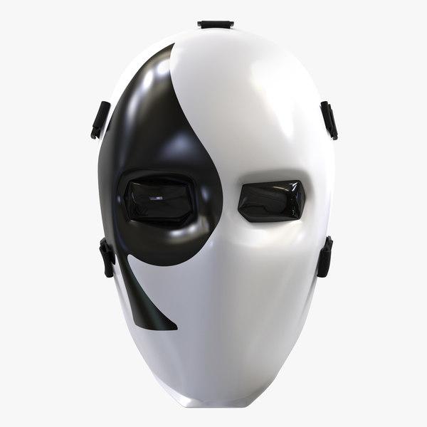 3D fornite joker mask sqade model