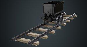 mining cart 1a model