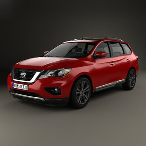 nissan pathfinder 2017 3D model