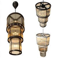 3D model chandelier avery lamp