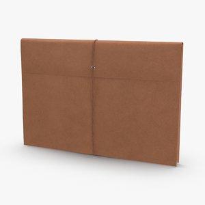 3D legal-folder-01 model