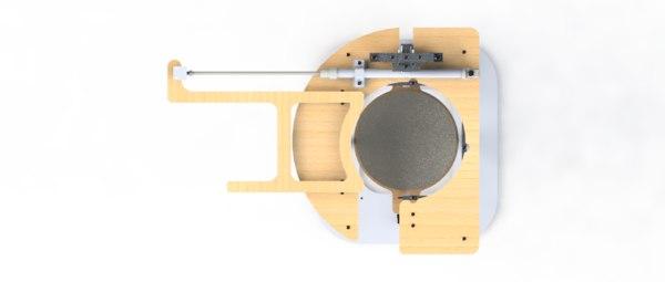 3D lifting mechanism model