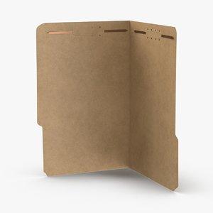 3D legal-folder-02---open model