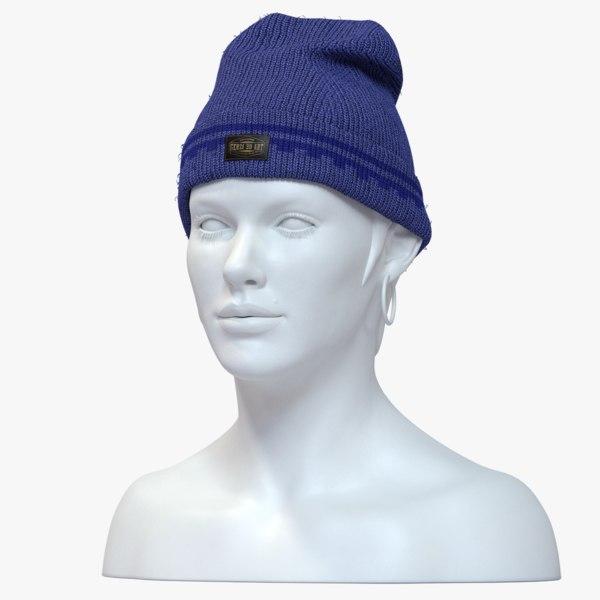 beanie hat model