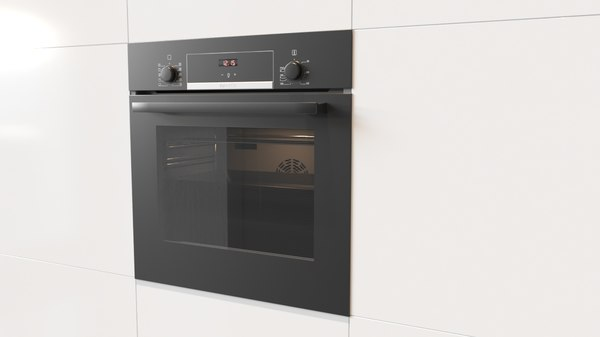 3D bosch built-in electric oven model