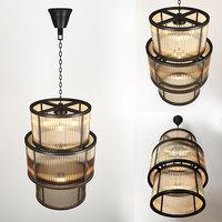 chandelier eichholtz lamp 3D model