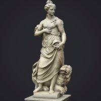 statue allegory peace 3D model