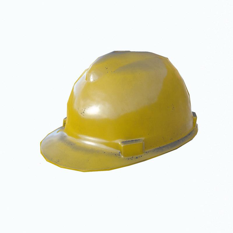 3D safety helmet safe model