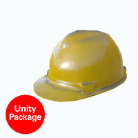 3D safety helmet safe model