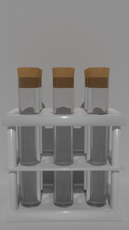 alchemy beaker model