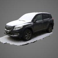 scan model of Toyota Land Cruiser