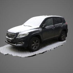 scan toyota land cruiser 3D