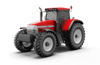3D model tractor mccormick xtx