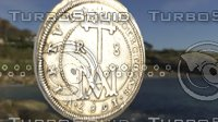 coin reales 8 3D
