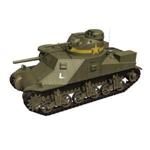 3D m3 lee tank