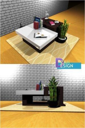 shorttable coffeetable 3D model